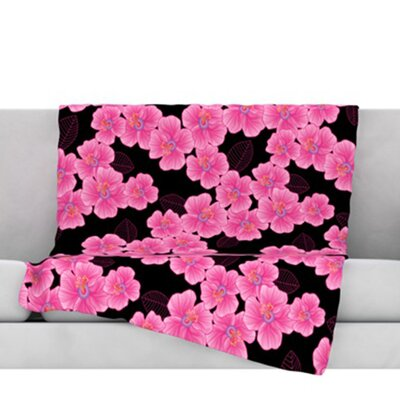Throw Blanket Size: 80 L x 60 W