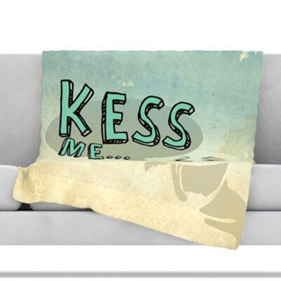 Kess Me Throw Blanket Size: 40 L x 30 W