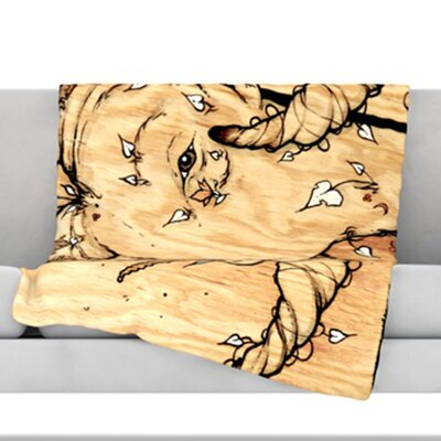 Ram Throw Blanket Size: 80 L x 60 W