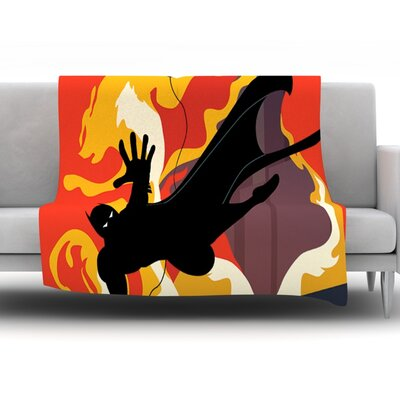 Prodigal Son by Kevin Manley Fleece Throw Blanket Size: 80 H x 60 W x 1 D