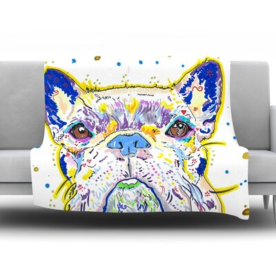 Niko by Rebecca Fischer Fleece Throw Blanket Size: 80 H x 60 W x 1 D