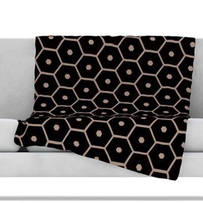 Tiled Mono Throw Blanket Size: 80 L x 60 W