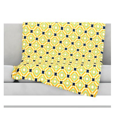 Tossing Pennies II Throw Blanket Size: 60 L x 50 W