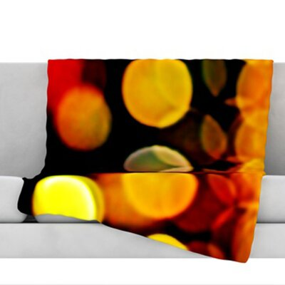 Lights Fleece Throw Blanket Size: 40 L x 30 W