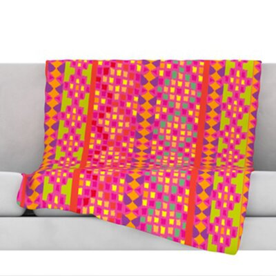 Mexicalli Fleece Throw Blanket Size: 80 L x 60 W