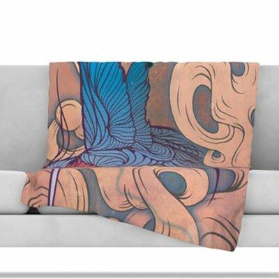 Aerialism Fleece Throw Blanket Size: 80 L x 60 W