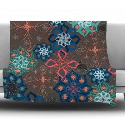 Floral Arrangements by Jolene Heckman Fleece Blanket Size: 60