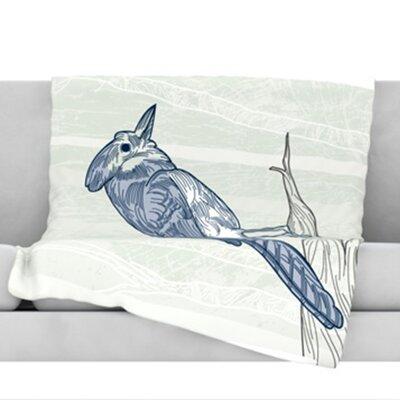 Jay Fleece Throw Blanket Size: 60 L x 50 W