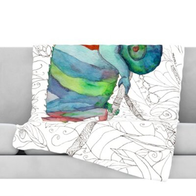 Chameleon Fail Throw Blanket Size: 80 L x 60 W