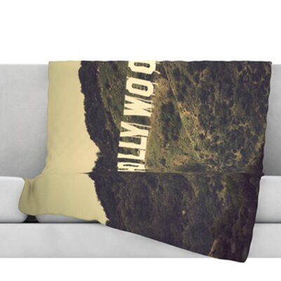 Hollywood Throw Blanket Size: 40 L x 30 W