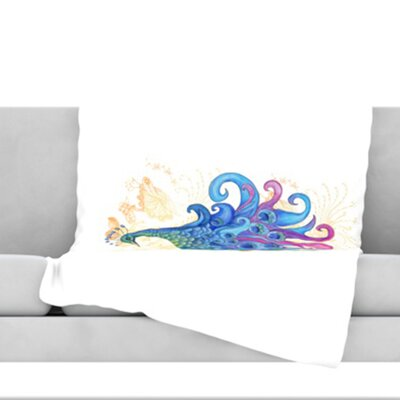 Peace Throw Blanket Size: 40 L x 30 W