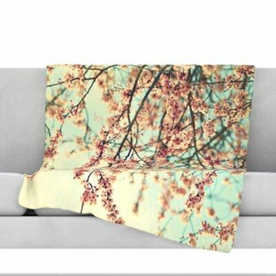 Take a Rest Fleece Throw Blanket Size: 40 L x 30 W