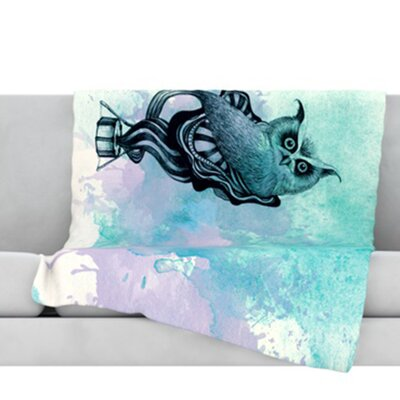Owl II Throw Blanket Size: 80 L x 60 W
