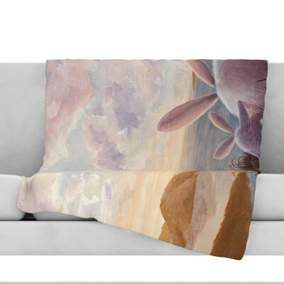 A New Perspective Fleece Throw Blanket Size: 80 L x 60 W