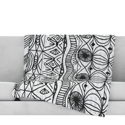 Blanket of Confusion Throw Blanket Size: 40 L x 30 W