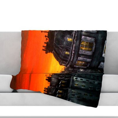 Paris Throw Blanket Size: 80 L x 60 W