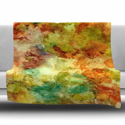 Fall Bouqet Fleece Throw Blanket Size: 40 L x 30 W