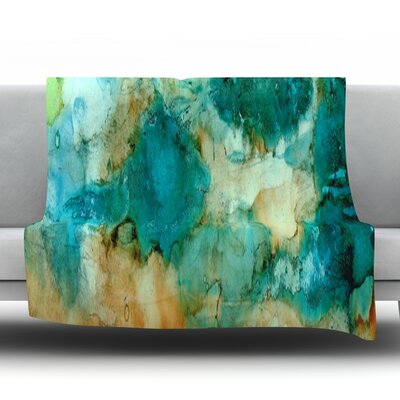 Waterfall Fleece Throw Blanket Size: 60 L x 50 W