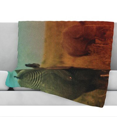 Abstract Rhino Throw Blanket Size: 40 L x 30 W