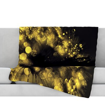 Moonlight Dandelion Throw Blanket Size: 60 L x 50 W