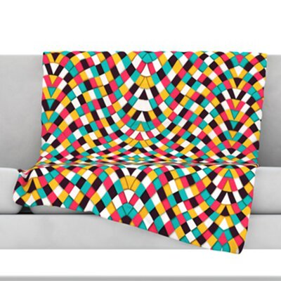 Retro Grade Throw Blanket Size: 60 L x 50 W