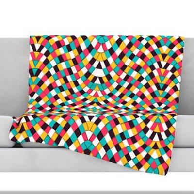 Retro Grade Throw Blanket Size: 40 L x 30 W