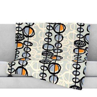 Benin Throw Blanket Size: 60 L x 50 W