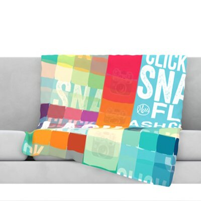 Flash Throw Blanket Size: 80 L x 60 W