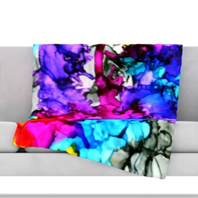 Indie Chic Throw Blanket Size: 40 L x 30 W