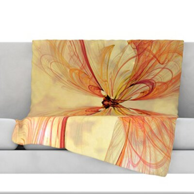 Papillion Throw Blanket Size: 60 L x 50 W