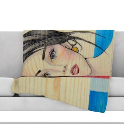 Face Throw Blanket Size: 60 L x 50 W