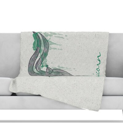 Capricorn Throw Blanket Size: 40 L x 30 W