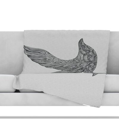 Dove Throw Blanket Size: 60 L x 50 W