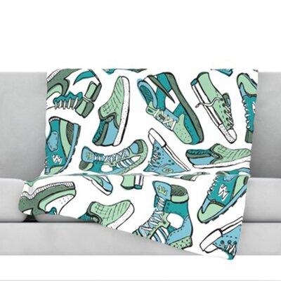 Sneaker Lover III Throw Blanket Size: 80 L x 60 W
