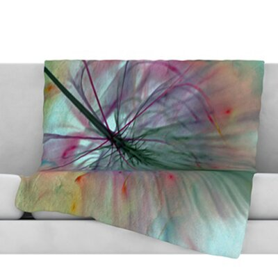 Fleur Throw Blanket Size: 60 L x 50 W