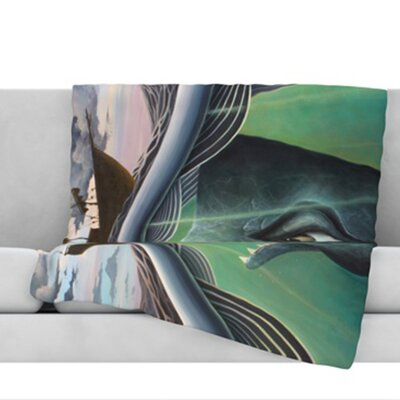 Jonah Throw Blanket Size: 40 L x 30 W