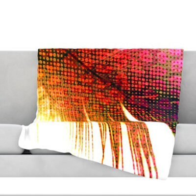 Feather Pop Throw Blanket Size: 60 L x 50 W