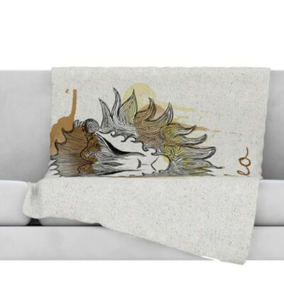 Leo Throw Blanket Size: 40 L x 30 W