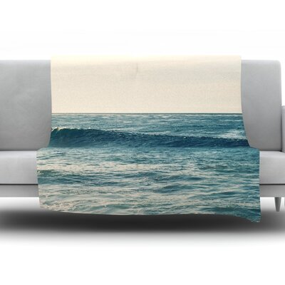 Balance by Myan Soffia Fleece Throw Blanket Size: 90 H x 90 W x 1 D