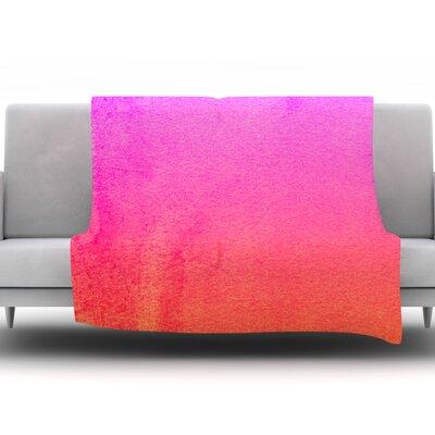 Fruit Punch by Monika Strigel Fleece Throw Blanket Size: 40 H x 30 W x 1 D