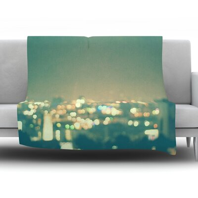 Anniversary by Myan Soffia Fleece Throw Blanket Size: 90 H x 90 W x 1 D