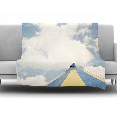 Carnival Tent by Susannah Tucker Fleece Throw Blanket Size: 60 H x 50 W x 1 D