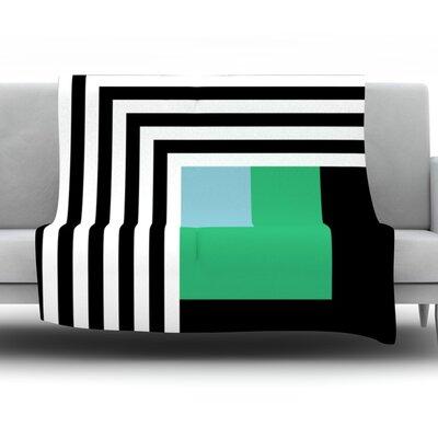 Kutovi by Trebam Fleece Throw Blanket Size: 40 H x 30 W x 1 D