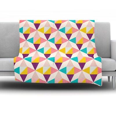 Amethyst by Louise Machado Fleece Throw Blanket Size: 40 H x 30 W x 1 D