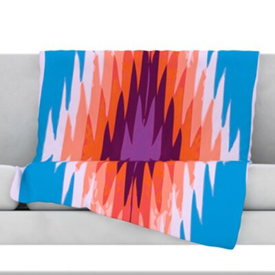 Surf Lovin Hawaii Fleece Throw Blanket Size: 80 L x 60 W