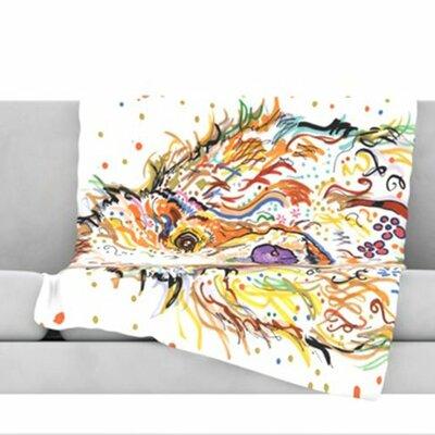 Lily Fleece Throw Blanket Size: 80 L x 60 W