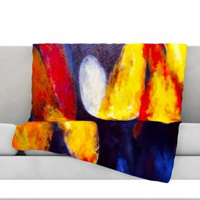 Into the Light Fleece Throw Blanket Size: 60 L x 50 W