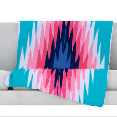 Surf Lovin II Fleece Throw Blanket Size: 80 L x 60 W