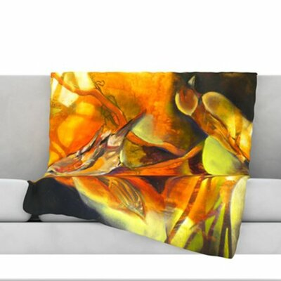Reflecting Light Fleece Throw Blanket Size: 40 L x 30 W