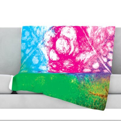Nastalgia Fleece Throw Blanket Size: 80 L x 60 W